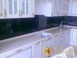 Столешницы и фартук из искусственного камня для кухни - фото 8