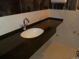 Столешницы из искусственного камня для ванной комнаты - фото 4