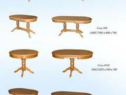 Столы из массива собственное производство.
