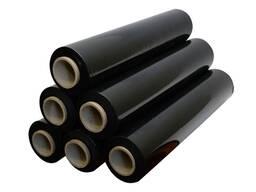Черная Стрейч пленка для ручной упаковки