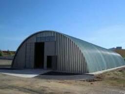 Строительство ангаров в Казахстане