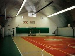 Строительство крытых спортивных площадок