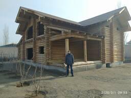 Строительство деревянных домов и бань. Оптовые поставки.