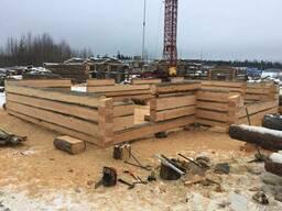 Строительство домов из Карельской сухостойной сосны Кело