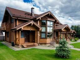 Строительство домов из сруба (дома из бруса и бревна)