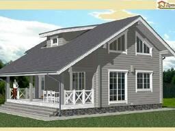 Строительство загородных домов из клееного бруса - фото 2