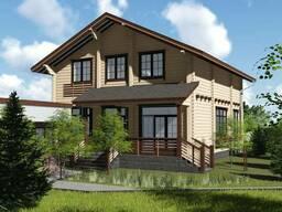 Строительство загородных домов из клееного бруса - фото 4