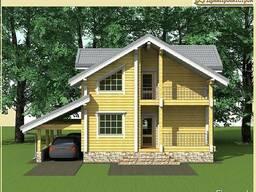 Строительство загородных домов из клееного бруса - фото 6