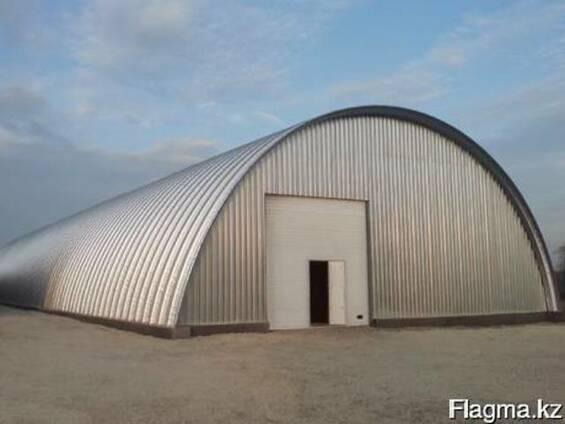 Строительство зерновых ангаров