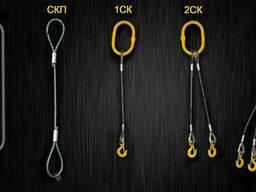 Канаты стальные, стропы, такелаж, захваты, комплектующие - фото 4