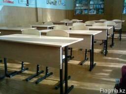 Стулья, столы, парты, стеллажи, станки, комплектация учебных