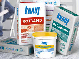 Сухие строительные смеси «Knauf»