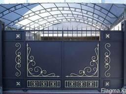 Сварочные работы, изготовление на заказ ворота, двери и др.