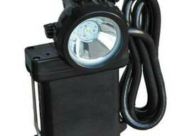 Светильник шахтерский головной с сигнализатором метана