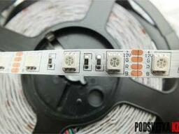 Светодиодная лента SMD 5050 RGB 60д/м 12V