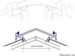 Световые вентиляционные коньки для ферм и птичников - фото 1