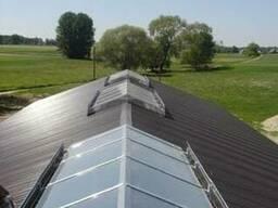 Световые вентиляционные коньки для ферм и птичников - фото 2