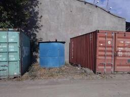 Свободная площадка под контейнера
