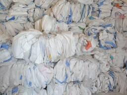 Сырье, Полипропиленовые отходы, мешки, целофаны, гранулы