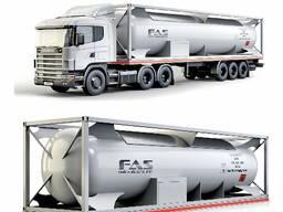 Танк контейнер для перевозки сжиженного газа СУГ