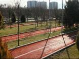 Тартановые покрытия для баскетбольных, волейбольных площадок - фото 1