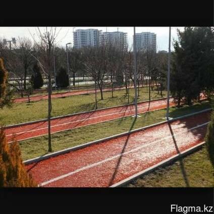 Тартановые покрытия для баскетбольных, волейбольных площадок