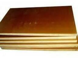 Текстолит стержневой, листовой