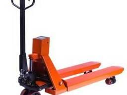 Тележка гидравлическая (рохля) с весами 2000 кг