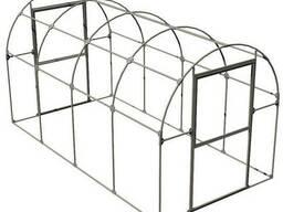 Теплица из поликарбоната серии Двушка ширина 2м длина от 4м