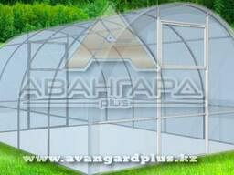 Теплица «Удачная Классик» СПК Skyglass 8 мм, длиной 4 метра