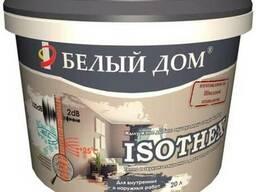 Теплоизоляционная акриловая краска, водоэмульсия Isothex