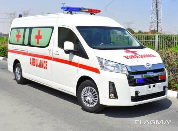 Toyota Hiace high roof GL 2.8l turbo diesel Ambulance