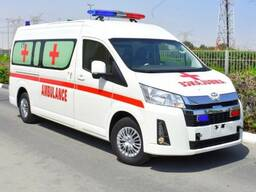 Toyota Hiace high roof GL 2. 8l turbo diesel Ambulance