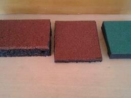 Травмобезопасная Термо-пресованная плитка