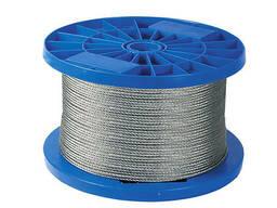 Трос стальной оц. DIN 3055 в оплетке ПВХ 3мм (Продается толь