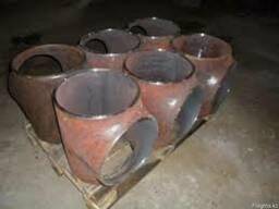 Тройник стальной ГОСТ17376-01, ст. 20, ст. 09Г2С,