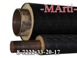 Труба для отопления с ППУ изоляцией диаметром от 32 до 426 м