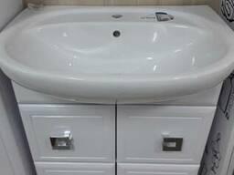 Тумба и раковина для ванной, размер 65
