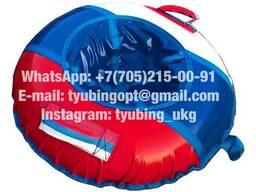 Тюбинг санки ватрушка Профи-триколор 90 см