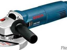 Угловая шлифмашина Bosch GWS 1000, болгарка, ушм