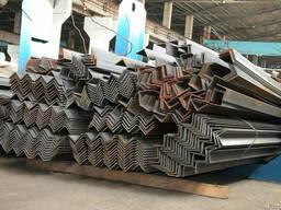 Уголок стальной равнополочный от 25 до 250мм ст. 3, ст. 09Г2С