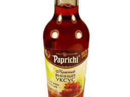 Уксус Винный натур. из красного вина 220мл (Paprichi)