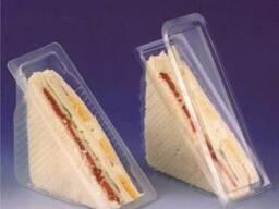 Упаковка для клаб сэндвичей