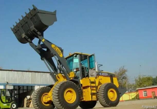 Услуги фронтального погрузчика 3 куб 5 тонник