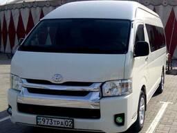 Аренда пассажирских микроавтобусов с водителем
