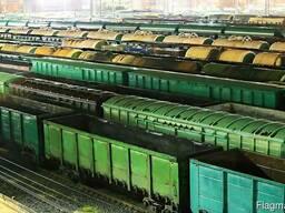 Услуги по организации текущего ремонта вагонов (находящихся