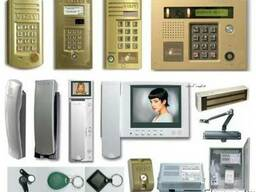 Установка домофонов, систем контроля доступа
