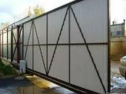 Установка ворот на консольную систему от 180 000тг.