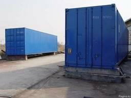 Утепленные блок-модули контейнерного типа