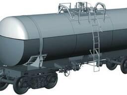 Вагон-цистерна для технического олеума, модель 15-9544-03